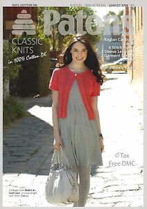 12f2853d521f VAT Free Knitting PATTERN ONLY Patons Ladies Classic Cardigans 3768 ...
