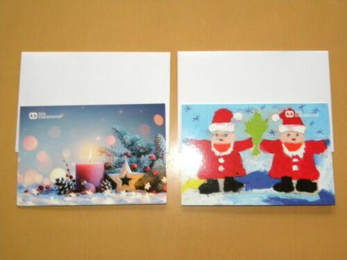 20 Klappkarten mit 20 Kuverts   SOS Kinderdorf Weihnachtskarten