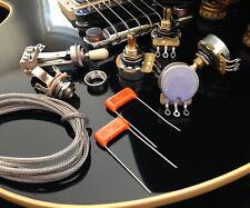 wd music les paul wiring kit short pots ebay rh ebay com