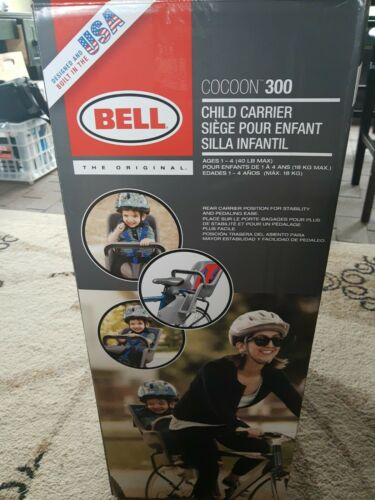 NOB Bell Bicycle Child Carrier Cocoon 300 5 Point Harness Bike Seat Ages 1-4