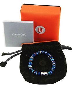 Image Is Loading John Hardy Sterling Silver Bedeg Blue Green Beads