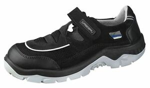 ABEBA-Sicherheitsschuhe-anatom-Sandale-schwarz-36-52-Arbeitsschuhe-S1-Schuhe