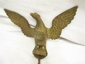 Bronzebrass flying eagle finial coffee grinder flag pole staff image is loading bronze brass flying eagle finial coffee grinder flag altavistaventures Image collections