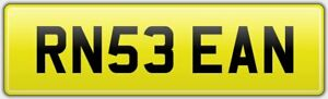 SEAN-BARGAIN-CHEAP-OLD-VIP-CAR-REG-NUMBER-PLATE-RN53-EAN-FEES-INCLUDED-SEA-SEANO
