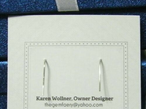 Details about  /Sterling Silver Genuine CORAL Gemstone Dangle Earrings #3117...Handmade USA