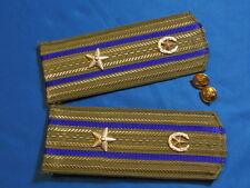 Soviet russian KGB Major Shoulder boards epaulets officer ARMY USSR UNIFORM