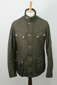 BARBOUR-Olive-Quilted-Jacket-size-M
