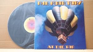 THE FOUR TOPS - AT THE TOP ORIG OZ PRESS 1978 EX+ COND ABC REC