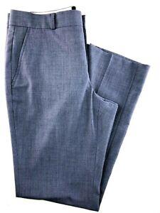 Banana-Republic-Women-039-s-Pants-Gray-Blue-Straight-Leg-Size-6-29x29-034