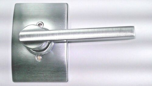 Lot of 2 Schlage F170LAT626CEN  Satin Chrome Latitude Single Dummy Door Lever