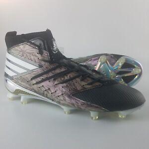 b157d1e5697 Adidas Freak X Primeknit Men s Football Cleats Platinum Black White ...