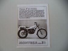 advertising Pubblicità 1981 MOTO MONTESA COTA 349 TRIAL