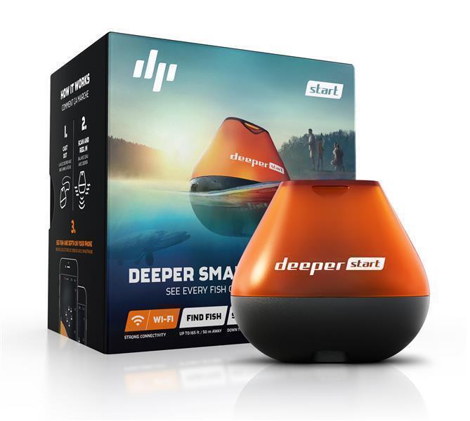 Neu Deeper Wifi Start Sonar Wifi Deeper Echolot Fishfinder zum Auswerfen für Uferangler d5e3e4