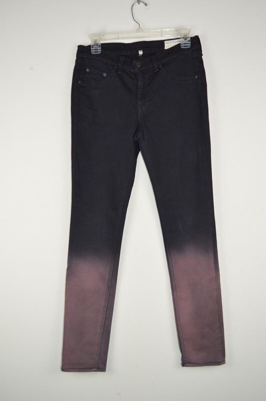 Rag & Bone Womens 28 Rusted Ombre Leggings Jeans Skinny Dipped Dye Leg W1503O163