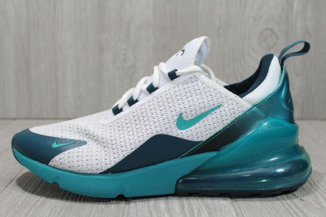 58 Nike Air Max 270 SE White Blue Running Training Shoes Mens Sz 11 AQ9164 102