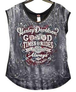 T Adapted Chesterfield Harley Harleyworld Womens New Genuine shirt Davidson® qtBF7