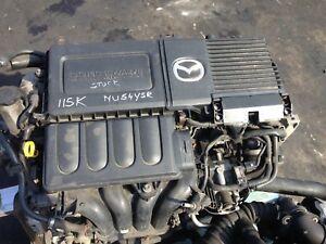 2004-MAZDA-3-1600-Z6-ENGINE-FULL-CAR-BREAKING