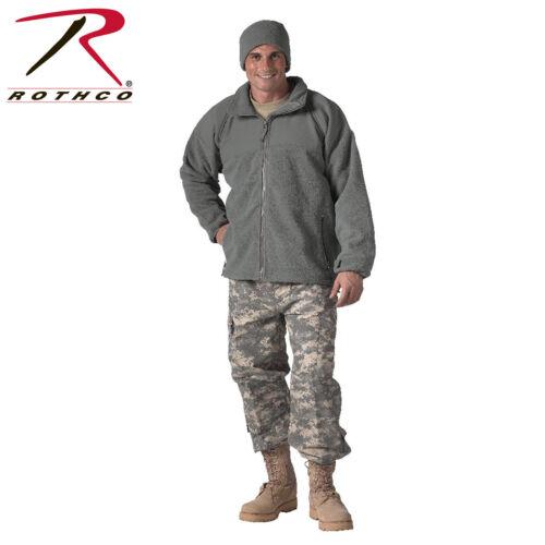 Rothco 9778 Foliage Green Coat Extreme Weather Polar Fleece Jacket  aka 9779