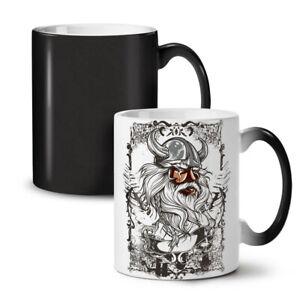 North Warrior Viking NEW Colour Changing Tea Coffee Mug 11 oz | Wellcoda