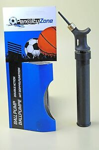 Ballpumpe-mit-Doppelhub-Nadel-Pumpe-Luftpumpe-fuer-Fussball-Handball-Basketball