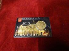 Vatican city coin card 2010 N°1 – 50 cent