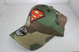 brand new 7759f 80cb1 Image is loading New-Era-Kids-Character-940-Superman-Velcro-Strapback-