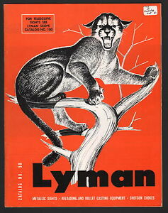 Image Is Loading Lyman Catalog No 50 1969