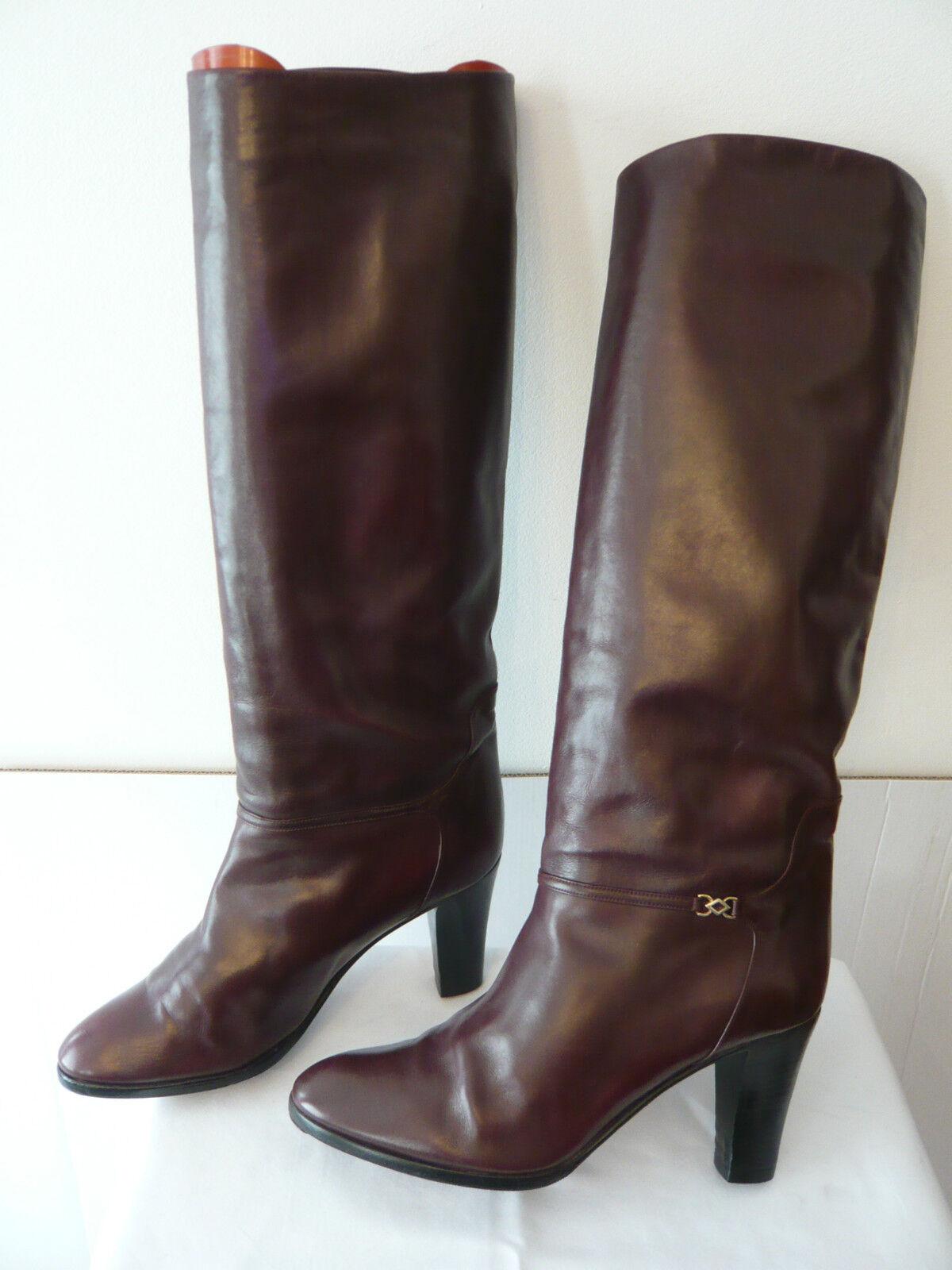 Boots Vintage  Bordeaux dark  - - - MARMOLADA  (A) T.39,5 1b8a23