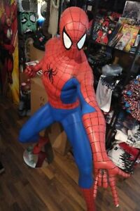 Spiderman-Comic-Limited-1-1-Full-Life-Size-Statue-Figur-auch-Mist-Oxmox