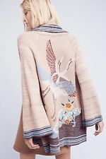 NWT Anthropologie Crane Cardigan sz L by Monogram HWR $198