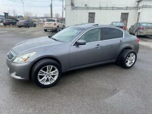 2011 Infiniti G25x Berline 4 portes Luxe, traction intégral