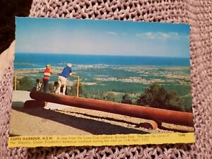 Lions-Club-Lookout-Coffs-Harbour-NSW-Vintage-Postcard