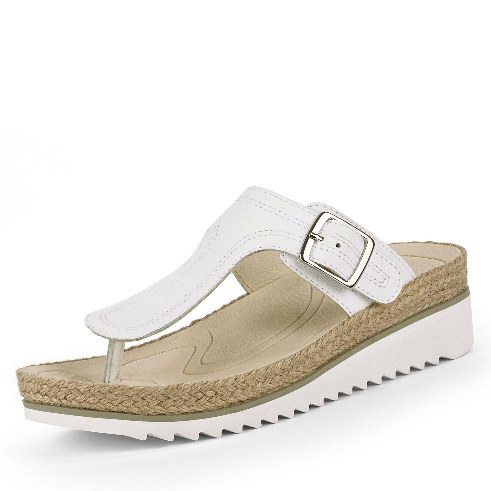 Gabor Damen Pantolette Sandalen Sandaletten Schlupfschuhe Sommerschuhe Schuhe