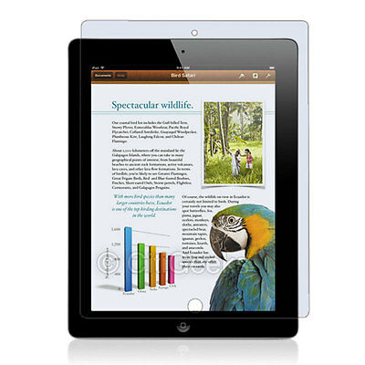 3-Pack CitiGeeks® Apple iPad 4 Screen Protector Anti-Glare Matte Cover Saver