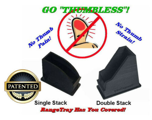 """/""""THUMBLESS/"""" Magazine SpeedLoader for the Ruger SR45 .45acp LIFETIME WARRANTY"""