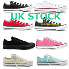 UK AUTHENTIC ConverseChuck Taylor Low Trainer Sneaker All Star OX Canvas Shoes