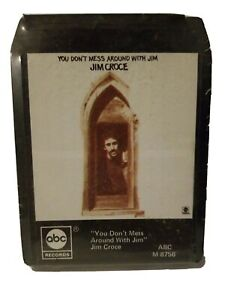 Jim Croce UNOPENED You Dont Mess Around With Jim 8 Track Stereo Tape ABC Records