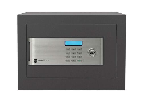 18L Capacity Box Lock Cash Yale Certified Home Safe £2000 Rating Security