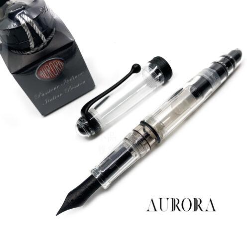 Aurora 88 Limited Edition Demonstrator Clear Matte Black 18K nib Fountain Pen