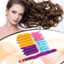 18Pcs Magic Hair Curlers Tool Curl formers Spiral Ringlet Leverag Rollers 30CM