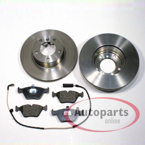 Bremsscheiben Bremsen Bremsbeläge vorne Vorderachse Bmw 3er E90 E91 E92 E93