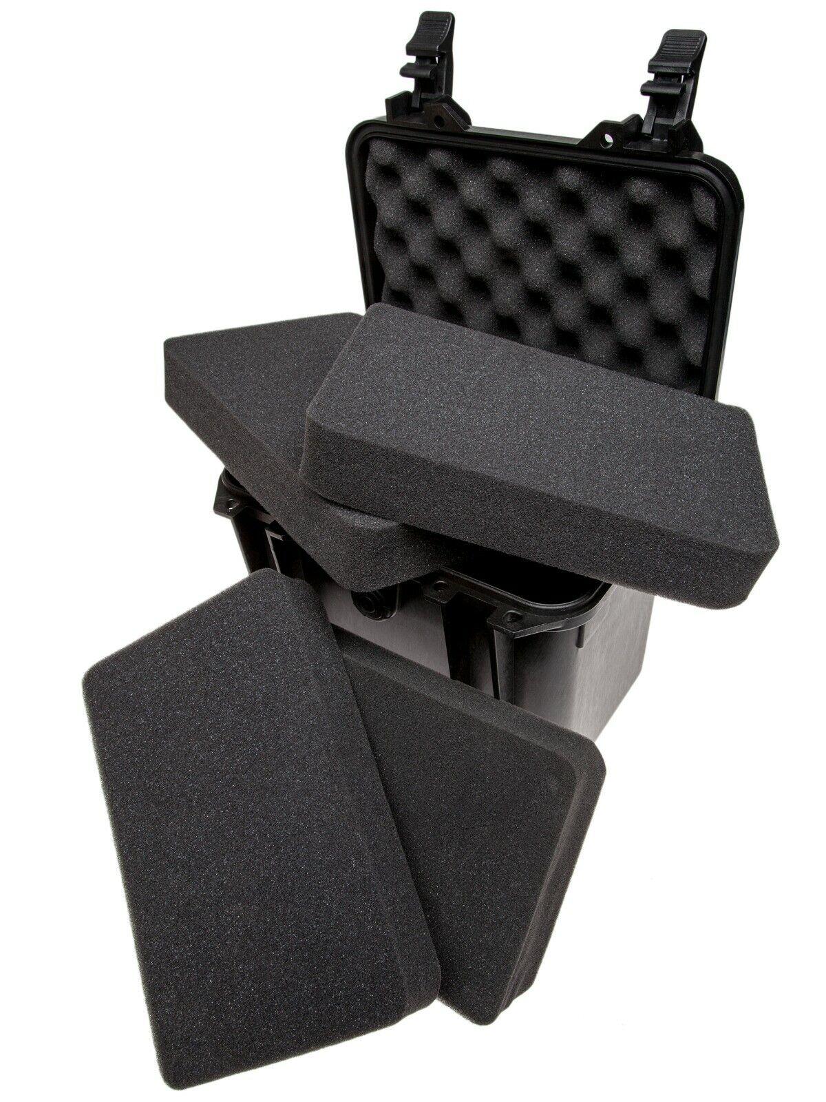Small Camera Hard Case With Soft Foam (27.50 x 26.30 x 25cm) (No. 971)