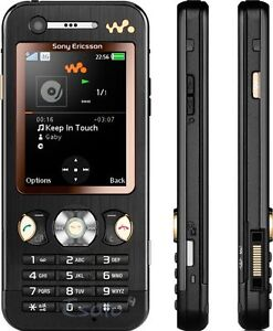 Sony-Ericsson-W890i-W890-i-Walkman-MP3-Handy-Garantie-in-schwarz-braun