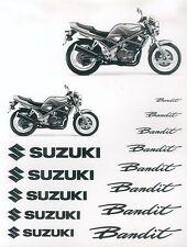 Suzuki Bandit 400 Prospekt brochure 1 Blatt 1985 Motorrad Asien Japan Broschüre