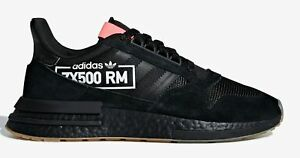 a494f73aa NEW! adidas Originals ZX 500 RM  Alphatype  BB7443 Black Core Black ...