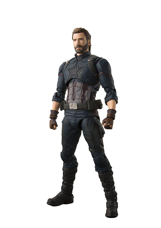 bienvenido a elegir S.H. Figuarts Vengadores Capitán América infinito Los Vengadores guerra 155 155 155 mm Figura De Acción  diseño simple y generoso