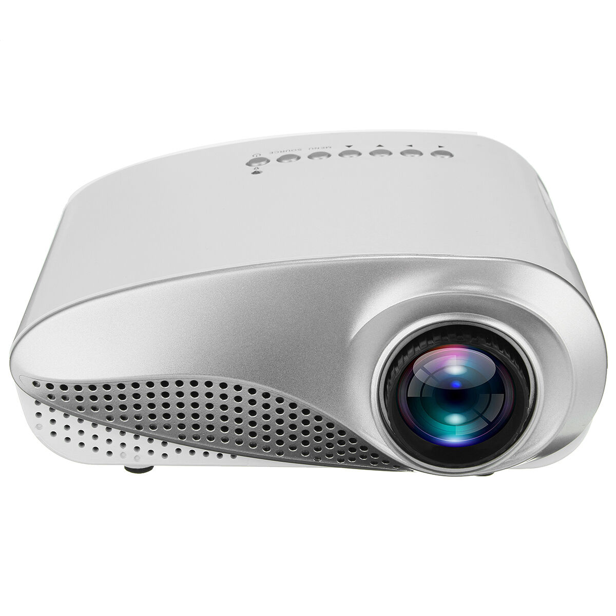 1080p Hd Led Mini Projector Multimedia Home Theater Cinema: 3D 1080P HD LED LCD Mini Projector Multimedia Home Theater