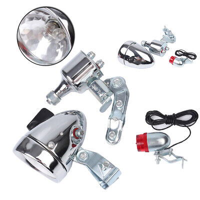 Bicycle Friction generator Headlight Taillight headlamp Tail Light 12V 6W