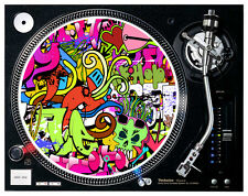 Hip Hop Graffiti Style  - Turntable / DJ Slipmats