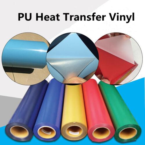 "HOHOFILM Iron on Textile PU Heat Transfer Vinyl DIY Garment 11.8/""x59/"" Festival"